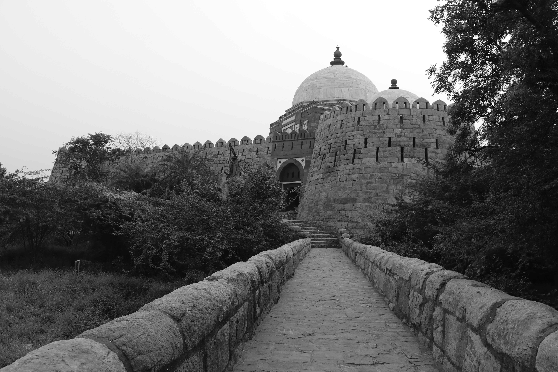 tomb-walkway