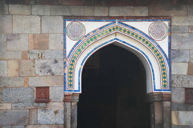 colour patterns masjid
