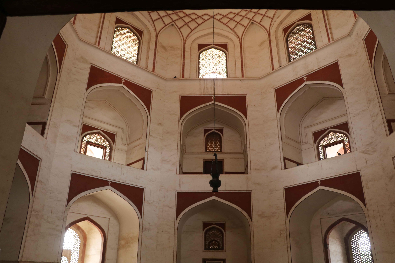 humayun tomb inside