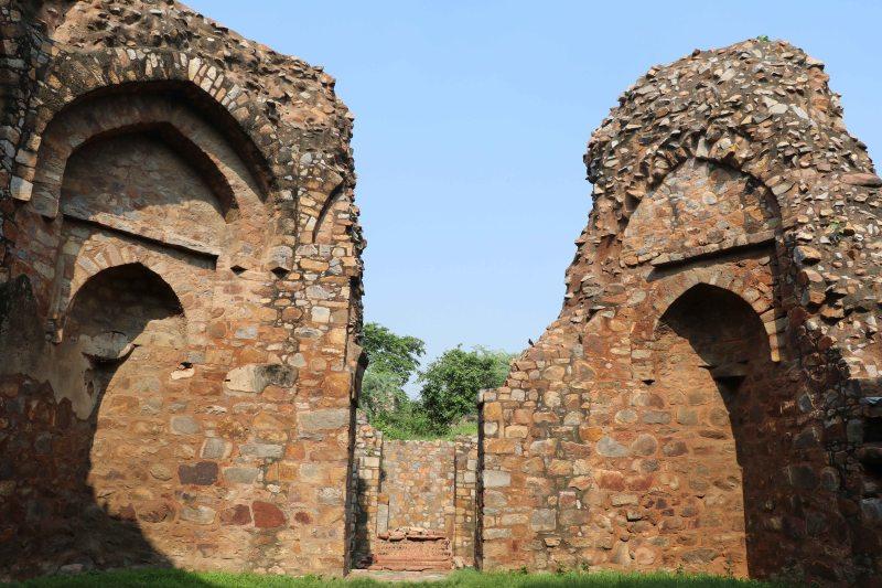 Meh38 rubble arch