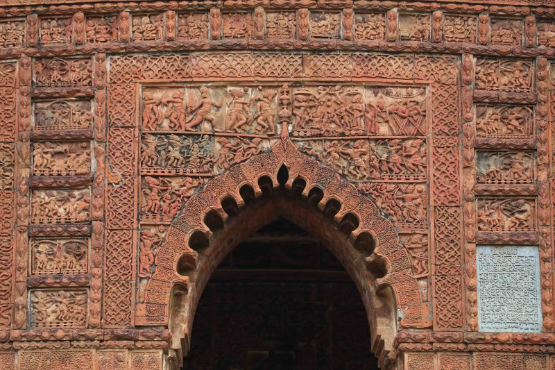 madan mohan central arch stucco