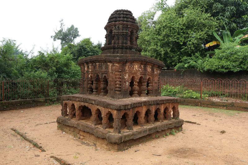 24 Bishnupur stone chariot