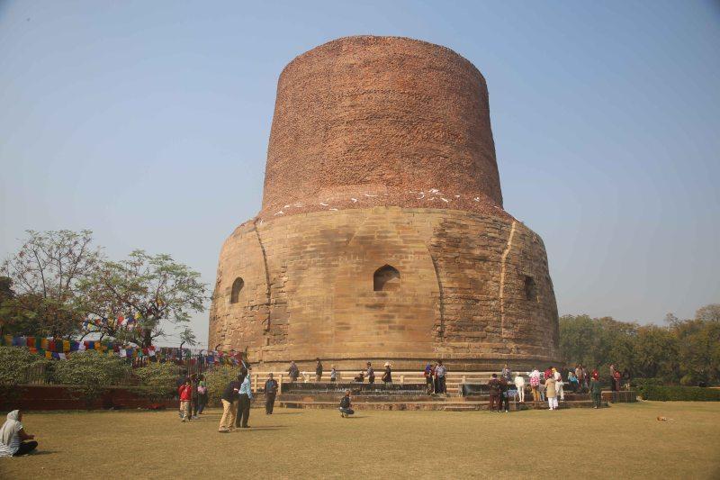 VNS dhamek stupa