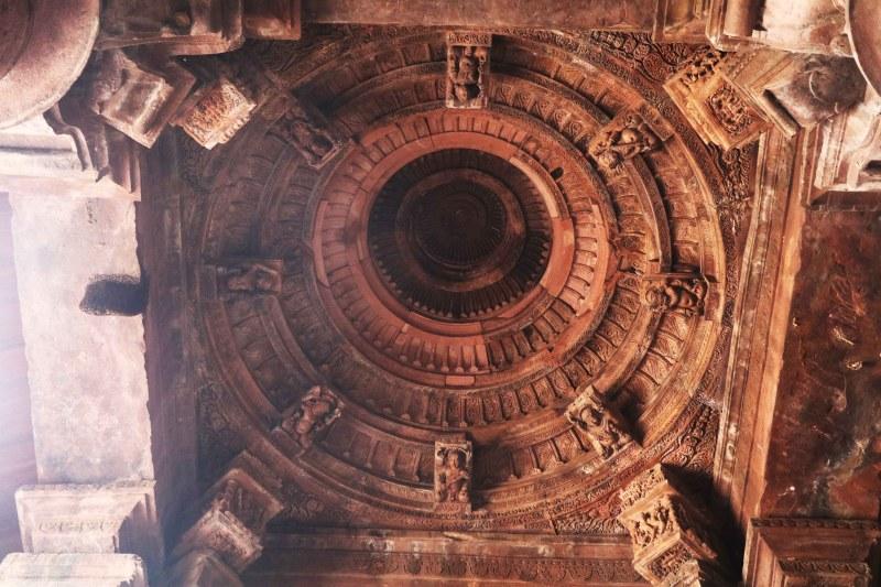 Bhojeshwar roof